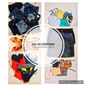 30 % off everything